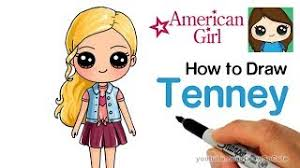 How To Draw Tenney Easy