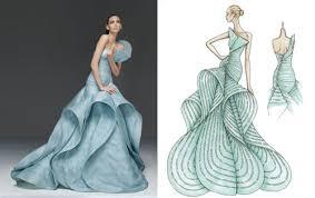 Wonderfull Dresses Sketches Design
