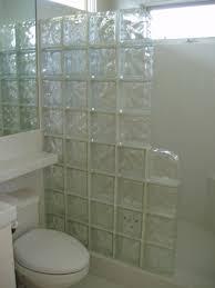 astounding bathroom design using glass tile shower wall panels