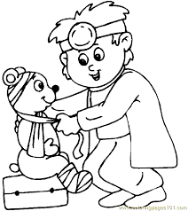 Trend Doctor Coloring Pages Top Books Gallery Ideas