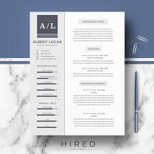 Professional, Modern And Minimalist Resume Template For MS ... Cv Template Professional Curriculum Vitae Minimalist Design Ms Word Cover Letter 1 2 And 3 Page Simple Resume Instant Sample Format Awesome Impressive Resume Cv Mplate With Nice Typography Simple Design Vector Free Minimalistic Clean Ps Ai On Behance Alice In Indd Ai 15 Templates Sleek Minimal 4p Ocane Creative
