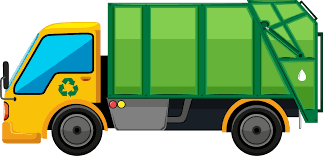 Garbage Truck Rubbish Bins & Waste Paper Baskets Clip Art - Trash ...