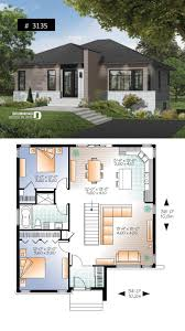 100 Modern Hiuse Abundantly Fenestrated Two Bedroom Modern House Plan With