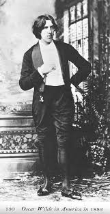 Oscar Wilde In America 1882 This Was During His Aesthetic Period And The Manner A Dress Meant To Cause Stir He Succeeded