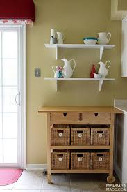 Cafe Shelving A Simple Kitchen Decor Update