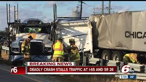 Two People Killed In Crash Involving Multiple Semis, Car On I-65 ... Indianapolis In Truck Accident Lawyers 1 In Critical Cdition After 4vehicle Crash Elkhart County Police Driver Who Ran Red Light Caused 3 Siblings Struck Killed By Truck At Bus Stop Indiana I94 Semi Can You Blame Winter Weather Children Killed Crash School Bus Stop I69 Reopens Of Two Semitrucks Local News Another Injured That Closes I64 Accident Kids What We Know Now Attorney Smart2mediate 5 Crazy Overturned Accidents Ohio How Fault Is Determined A Commercial Injury Law