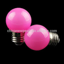 g45 0 5w led colored light bulbs led bright pink small