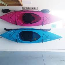 Kayak Ceiling Hoist Australia by Kayak Storage His Hers Kayaks Kayaking Pinterest