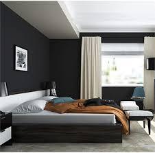 schwarze schlafzimmertapete schlafzimmer möbel bett zimmer