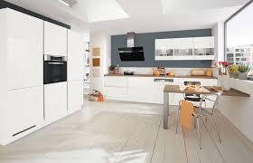grifflose 2 zeilen küche in lack weiß ultra hochglanz