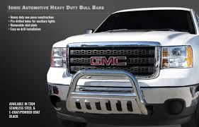 100 Push Bars For Trucks Ionic 3 Black Bull Bar Bar Fits 20042015 Nissan Titan