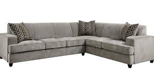 Grey Leather Sectional Living Room Ideas by Sofa Darby Modern Fabric Sectional Sofa Set 3 Stunning Grey