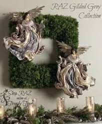 Raz Christmas Decorations 2015 by Raz Glittered Green Fern Ball Set Of 2 Trees Set Of And Halloween