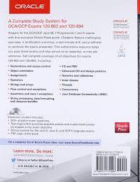 OCA OCP Java SE 7 Programmer I & II Study Guide Exams 1Z0 803