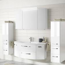 badezimmer set fes 4010 60 mit 120cm keramik waschtisch led spiegelsc