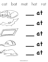 Cat Mat Coloring Page