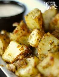 Pesto Potatoes In The Oven Or On Grill