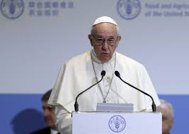 Norms Pumpkin Patch Death by Pope At Un Demands Response To Hunger Climate Migration