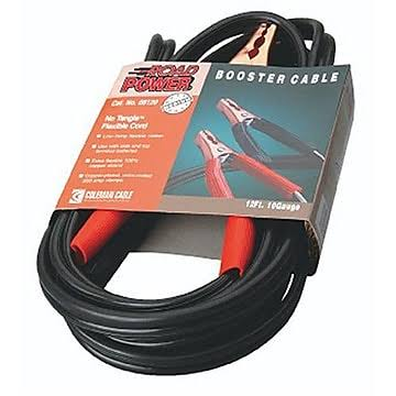 Coleman 12 Foot, 10 Gauge Booster Cable
