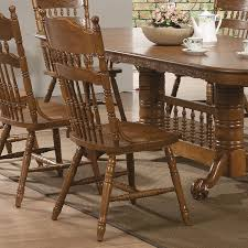Press Back Chairs Oak by Amazon Com Coaster Home Furnishings 104272 Country Dining Chair