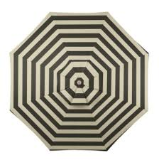 Ballard Design Canopy Striped Outdoor Umbrella