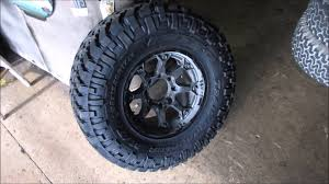 Dodge 2500 With 35 12.5 17 Tires - YouTube
