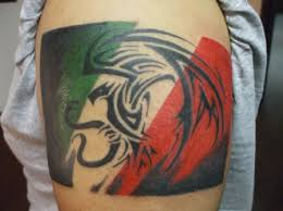Mexican Tribal Tattoos For Men