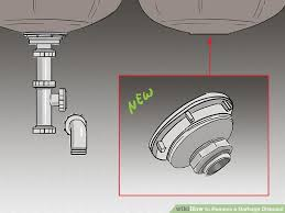 Garbage Disposal Backing Up Into Both Sinks by How To Remove A Garbage Disposal With Pictures Wikihow