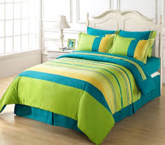 Lime green and blue bedroom blue and lime green forter sets