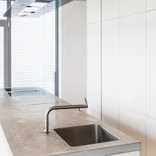 wie kann den idealen betonoptik look auf arbeitsplatten
