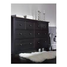 commode hemnes 6 tiroirs hemnes commode 8 tiroirs noir brun ikea