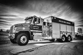 100 Black Fire Truck Hollis Department ME Spencer S