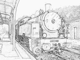 Coloriages De Trains Coloriages Coloriage À Imprimer Gratuit