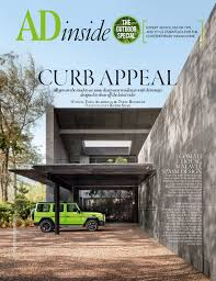 Home Decor Magazine India by Ad July August 2017 Architectural Design Interior Design