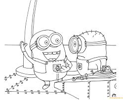 Minions Despicable Me S Printable5deb Coloring Page