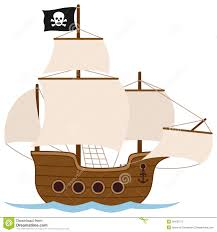 100 Design A Pirate Ship Or Sailing Boat Stock Vector Illustration Of