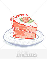 birthday cake slice clipart