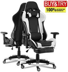 MOOSENG Video Gaming Chair Racing Office-PU Leather High Back Ergonomic 180  Degree Adjustable Swivel Executive Computer Desk Task Large Size, Headrest  ... Ewin Champion Series Gaming Chair Provides Comfort And Flair Amazoncom Vertagear Sline Sl5000 Racing Gaming Top 10 Best Video Games Chairs Amazon 2019 Overkill Pleads Forgiveness For Pday 2 Microtraations 20 Pc Build Guide Get Your Rig Ready The Ak Premium V2 Chair Review Dickie Game Mooseng High Back Video Lumbar Supportfootrestpu Leatherexecutive Ergonomic Adjustable Swivel01 Blackmassager Acers Predator Thronos Is A Cockpit Masquerading As The Buyers Guide Specs That Matter