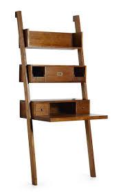 bureau etagere étagère bureau en bois de collection mawan