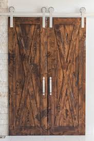 Bi-Parting Double Sliding Barn Door Hardware Kit | Rustica Hardware Best 25 Sliding Barn Door Hdware Ideas On Pinterest Diy Shop Reliabilt Solid Core Soft Close Pine Barn Interior Door With Bedroom Installation Small Hdware Bifold 13foot Kit Industrial By Design Ideas Doors With Also Jeldwen 42 In X 84 Rustic Unfinished Wood Install Pulls The Home Before After Decorating Lonny Austin Double Bypass Modern Systems Krownlab Track Trk100 Rocky Mountain How To Blesser House