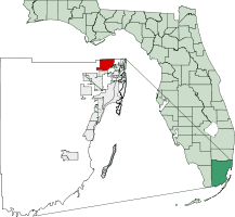 Location in Miami Dade and the state of Florida