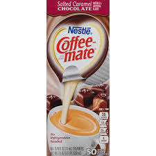 Coffee Mate Salted Caramel Chocolate Creamer Cups 200 Count