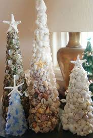 Seashell Christmas Tree Ornaments by 241 Best Coastal Christmas Images On Pinterest Coastal Christmas