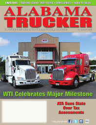 Alabama Trucker, 1st Quarter 2015 By Alabama Trucking Association ...