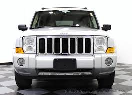 2006 used jeep commander 4wd 5 7l v8 limited hemi 3rd row dvd