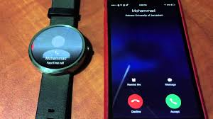 Answering iPhone calls using Android Wear