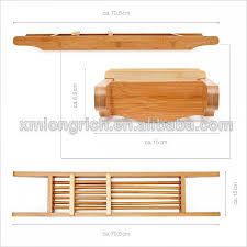 Bamboo Bathtub Caddy With Reading Rack by 100 Bamboo Bathtub Caddy With Reading Rack Wood Bathtub