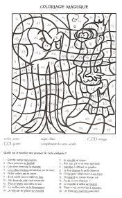 Coloriage Magique CE1 Un Dauphin Images En Couleur 40782