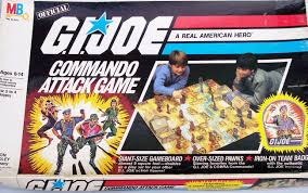 Board Game Of The Week GI Joe Commando Attack Milton Bradley