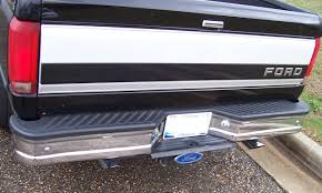 WTB REAR CHROME BUMPER FOR '92-'96 PICKUP - Ford Truck Enthusiasts ... Receiver Hitch Step That Helps Eliminate Rear End Collision Damage Iron Cross Chevy Silverado 52018 Heavy Duty Series Full Add Stealth Fighter Rear Bumper Raptorpartscom 72018 F250 F350 Hammerhead Flush Mount 60592 Magnum Bumpers Go Rhino Br20 Autoaccsoriesgaragecom Aftermarket Bumper Toyota Nation Forum Car And F150 Honeybadger W Backup Sensors Off Road Lings Of York Tow Hooks